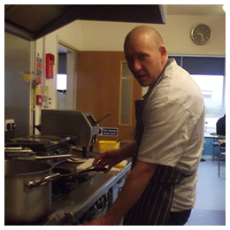 Head Chef James Powell